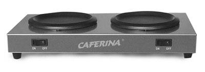 Caferina Twin Warming Plate