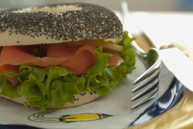 Coffee and a Bagel Offer at CoffeeWorx