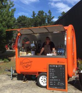 Meccanno Coffee Cart